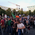 March from Wittenbergplatz to Ku-Damm