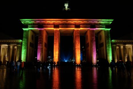 Festival of Lights at Brandenburger Tor