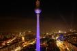 Festival of Lights from Park Inn, Alexanderplatz