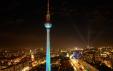 Festival of Lights from Park Inn, Alexanderplatz 2