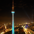Festival of Lights from Park Inn, Alexanderplatz 2