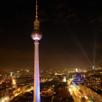 Festival of Lights from Park Inn, Alexanderplatz 3