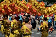 Karneval der Kulturen 2013 - Dragon float