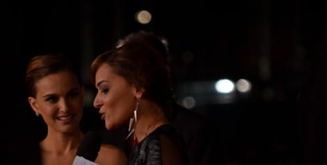 "Natalie Portman at the Berlin premiere of ""Thor: The Dark World,"" October 27, 2013. Copyright Caitlin Hardee."