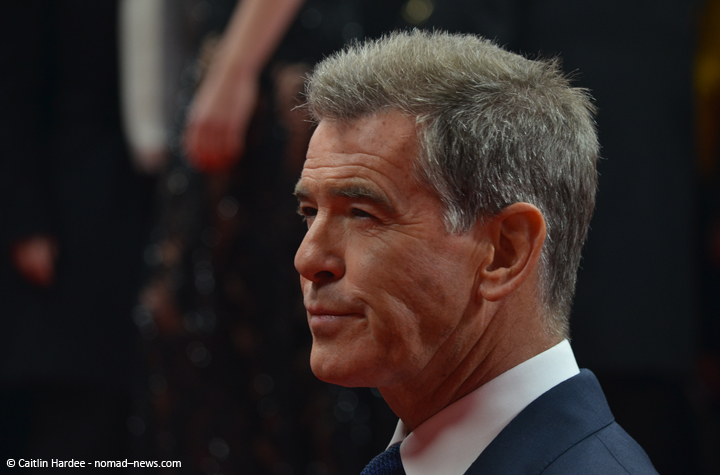 """""""A Long Way Down"""" costar Pierce Brosnan at the 2014 Berlinale film festival."""