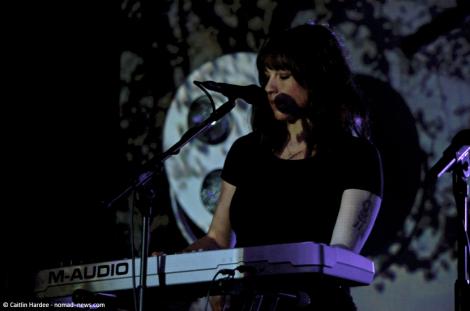 Rosie Doonan plays with Birdy in Berlin.