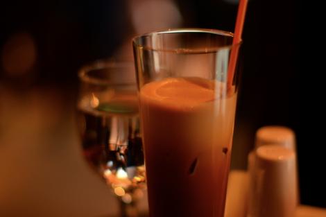 Espresso freddo in Thessaloniki, Greece. Copyright: Caitlin Hardee, Nomad News.
