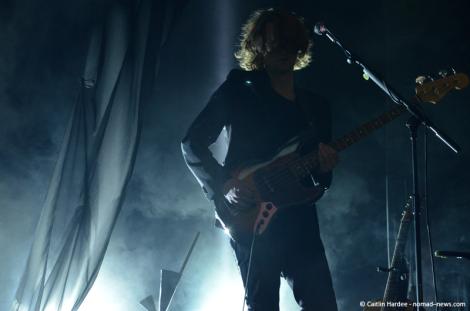 Lykke Li backing band in Berlin's Astra Kulturhaus. Copyright: Caitlin Hardee, Nomad News