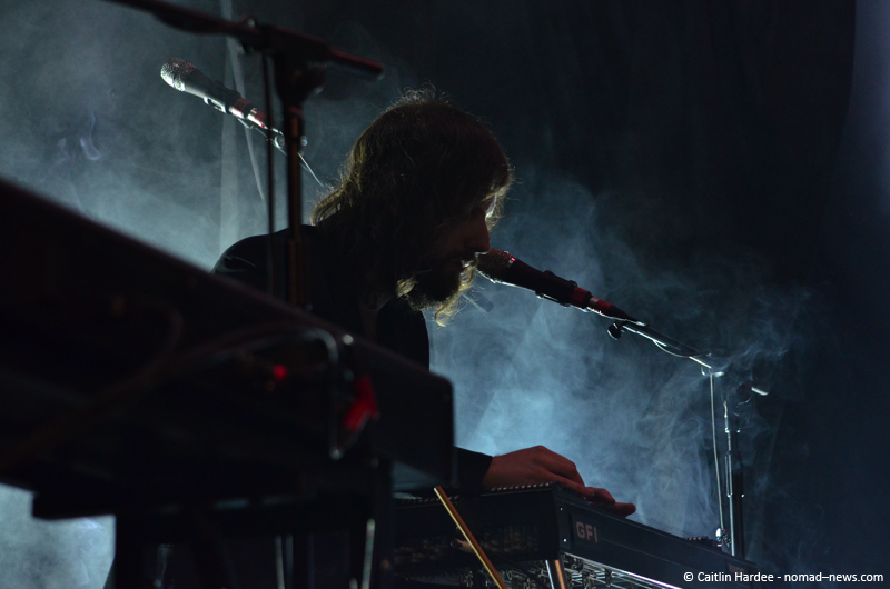 Lykke Li backing band in Berlin's Astra Kulturhaus. Copyright: Caitlin Hardee, Nomad News