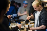German AeroPress Championship 2015 at Berlin's The Barn. Copyright: Caitlin Hardee