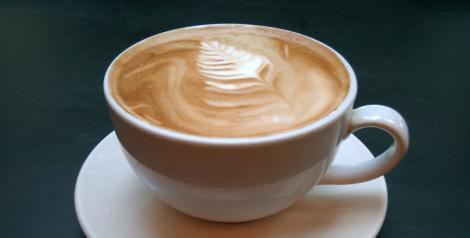 Latte. Photo rights: Caitlin Hardee